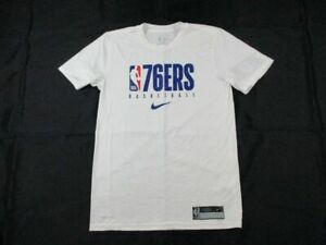 Philadelphia 76ers Nike Short Sleeve Shirt Men's NEW Multiple Sizes