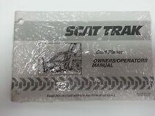 Skat Trak Model Cold Planer  Owners/Operators Manual