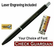 Fisher Space Pen #SCG1/ Personalized Check Guardian Anti Identity Theft Pen