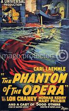 The Phantom Of The Opera Vintage Horror Movie Poster 1 18x24