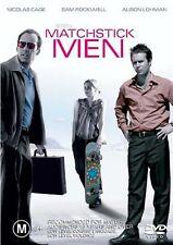 Matchstick Men (2003) Nicholas Cage - NEW DVD - Region 4