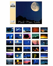 NEU: Postkartenbuch Mond, 30 Postkarten