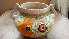 CROWN DUCAL CHARLOTTE RHEAD RHODIAN DOUBLE HANDLE BOWL. FIRST PERIOD 1933-34!!