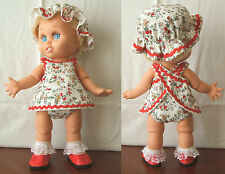 DRESS SET FOR GALOOB BABY FACE DOLL :  Custom made