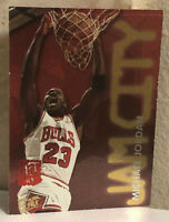 1995-96 Fleer Ultra Michael Jordan Jam City Hot Packs Card #3 of 12