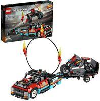 LEGO 42106 Technic Stunt Show Truck & Bike Toys Set