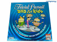 🔥 Hasbro • Trivial Pursuit DVD for Kids Board Game • 2006 Season One • New