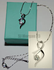 Unbranded White Gold Plated Costume Necklaces & Pendants
