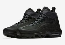 New Nike Men's Air Max 95 Sneakerboot (806809-001) Black-Anthracite Size 10.5