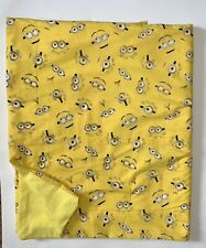 Child weighted blanket Minions 6 Lbs. Handmade New