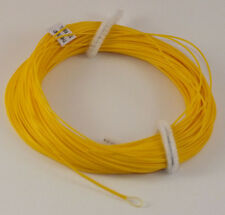 Fly Line Weight Forward Floating 6Wt Loop end, Yellow slick finish 85' Ln433