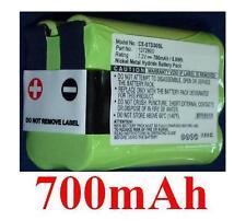 Batterie 700mAh type 1272800 1281100 Rev.B Pour TRI-TRONICS Trashbreaker G3