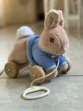 Peter Rabbit Baby Pull Along Soft Plush Toy 2002