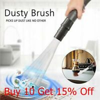Dusty Brush Cleaner Dirt Remover Universal Vacuum Attachment Straw Cleaning S9E1
