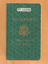 PASSPORT MARY ANNA MATHENY SMITH VINTAGE ADVERTISING 1960
