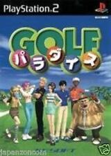 Used PS2 Golf Paradise SONY PLAYSTATION JAPAN IMPOR