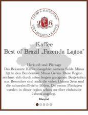 "Best of Brazil ""Fazenda Lagoa"" Kaffee 1kg"