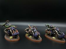 Warhammer 40k Orks warbiker Mob #4 R3S2B1 Pintada