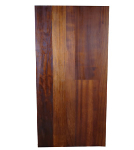 Reclaimed Iroko Hardwood Table Tops - Made from old school science lab tops