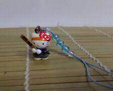 Hello Kitty Cosplay Japanese Baseball CellPhone Strap