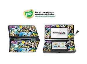Pokémon Vinyl Skin Sticker for Nintendo 3DS
