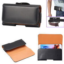 For Iphone XS Max XR XS 8 Belt Case Universal Leather Belt Clip Phone Pouch Bag
