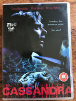 Cassandra DVD 1987 Rare Australian Cult Horror Film Movie w/ Tessa Humphries