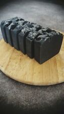Handmade and 100% Natural soap bars, Activated Charcoal, exfoliating and shave