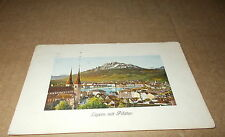 Lucerne Printed Collectable Swiss Postcards