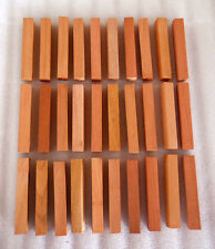 "6 Spanish Cedar solid wood turning squares 2"" x 2"" x 12"" inches long kiln dried"