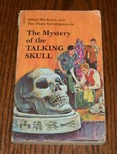 THE MYSTERY OF THE TALKING SKULL by Alfred Hitchcock Three Investigators 1969 PB