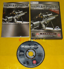 SOLDIER OF FORTUNE SPECIAL EDITION 1 Pc Versione Inglese »»»»» COMPLETO