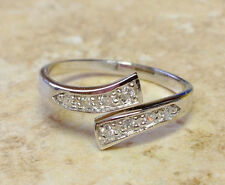 1pc Women 925 Sterling Silver Rhinestone Adjustable Toe Ring Foot Jewelry Gifts