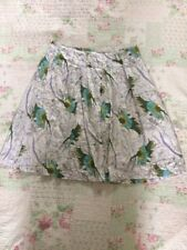 Delightful FAT FACE Full Pleated Multi Floral Skirt-size 12. Immaculate