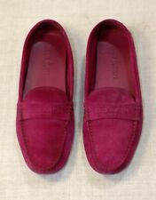 800$ LOUIS VUITTON LV pink moccasin shoes loafers flats 39-40 us 8.5-9 uk 6-6.5