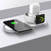 Wireless Charger Charging Station For IPhone For Apple Watch For Apple AirPods 2