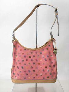 Dooney & Bourke Pink Multi Beige Shoulder Bag