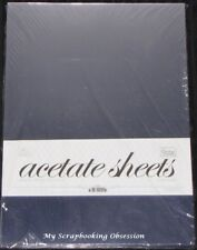 Couture Creations 'Acetate Sheets' A4 210x297m 50pk Clear 0.25mm Thickness