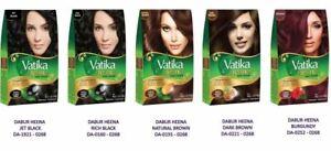 Vatika High quality Pure Natural Henna Hair Dye - All Colors