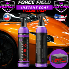 Force Field Ceramic King Polish Seal Shine Protect Armor Your Ride #1 WorldWide