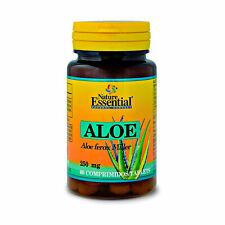 ALOE VERA 250 mg. 60 Comprimidos - NATURE ESSENTIAL - Antioxidante Colesterol