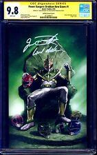 Power Rangers Drakkon #1 VIRGIN VARIANT CGC SS 9.8 signed Jason David Frank MMPR