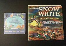Disney's Sleeping Beauty Record and Book French version. Bonus Snow White album