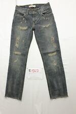 Levi's 511 Slim Wild Boar (Cod. E547) Tg45 W31 L34 jeans ACCORCIATO usato