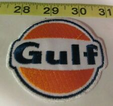 3 LOT TEAN GULF GAS//OIL Embrodered Iron Or Sewn On UNIFORM Patches Free Ship
