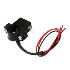 Motorcycle Dual Double Flash Warning Light Switch Handlebar ON-OFF Switch E7P0