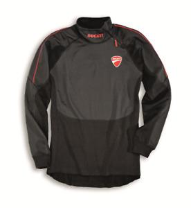 New Spark Ducati Strada 14 Thermal Long-Sleeved T-Shirt Men's M Black #981026064