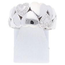 Damen Herz Ring Zirkonia 925 Sterling Silber Größe 53 Schmuck Liebe R03.3228