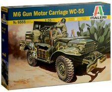37 Mm Gun Motor Carriage M6 Kit ITALERI '1:35 IT6555