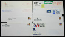 US Postage Set of 9 Stamps Covers Letter Envelope ADV Eagle USA Brief (H-7474+